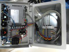 Control panel - inside